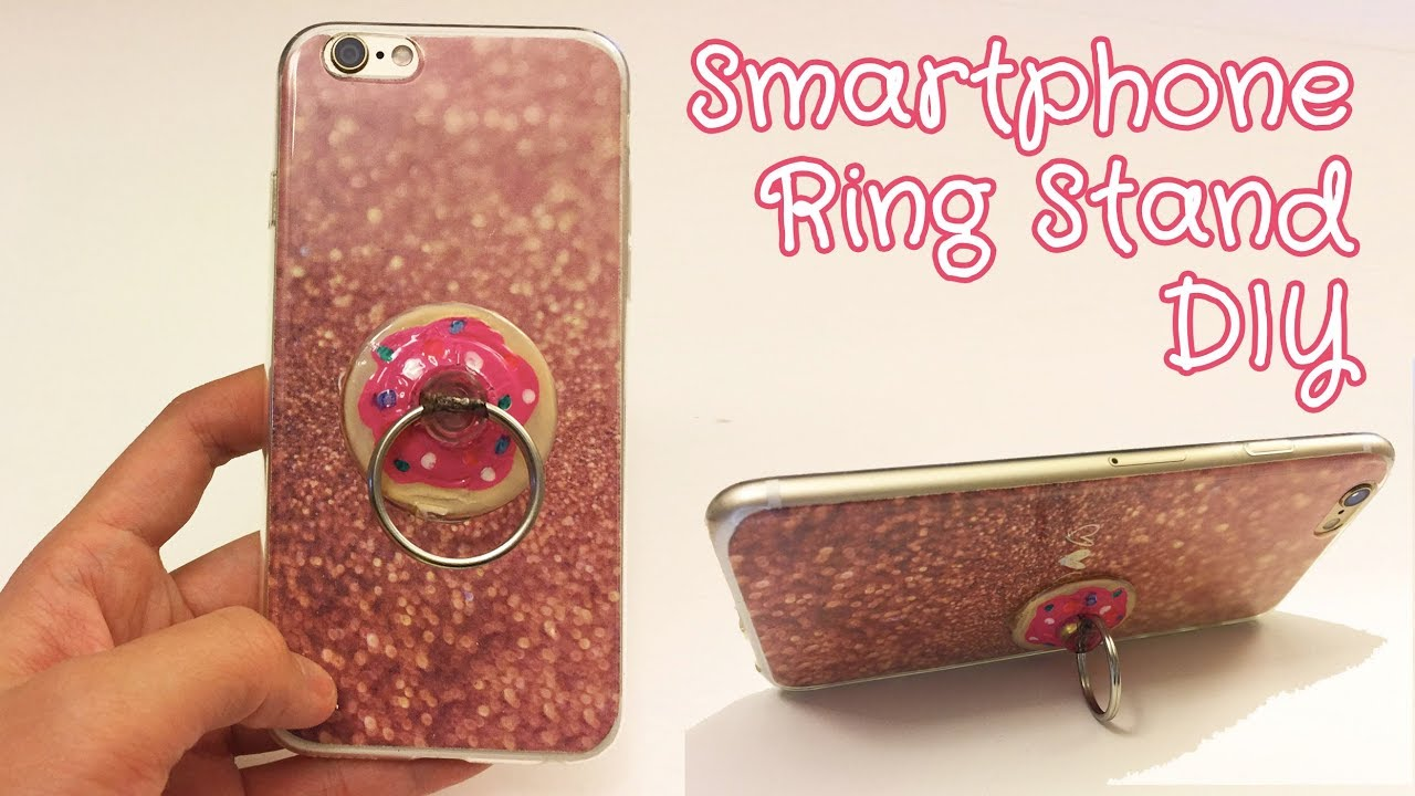 Easy Popsocket Ring Stand Diy Cell Phone Accessory Diy Sunny Diy