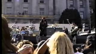 The Cult 1992 San Francisco Native Rights Concert pt 1