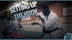 Michael Jai White Kyokushin Training Seminar - Setting up The Hook
