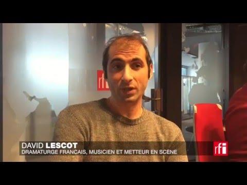 C'est quoi l'ennemi de l'humanité, David Lescot ?