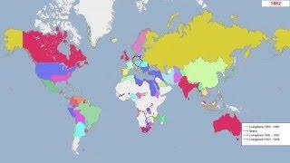 Политическая карта мира за 5000 лет