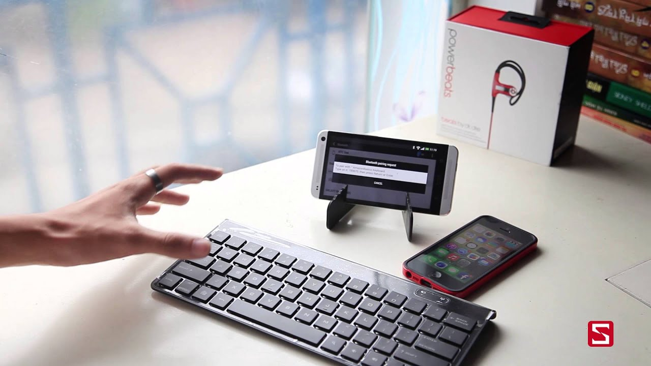 Schannel – Giới thiệu bàn phím Bluetooth AmazonBasics dành cho Android, iOS – CellphoneS