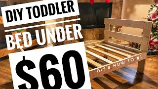DIY TODDLER BED UNDER $60!!! DIY & HOW TO - #1 SKYLER HENRICKS FAMILY VLOGS DIY TODDLER BED UNDER $60!!!