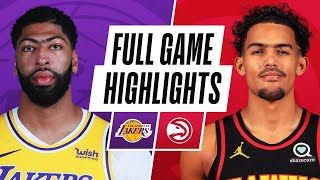 Game Recap: Lakers 107, Hawks 99