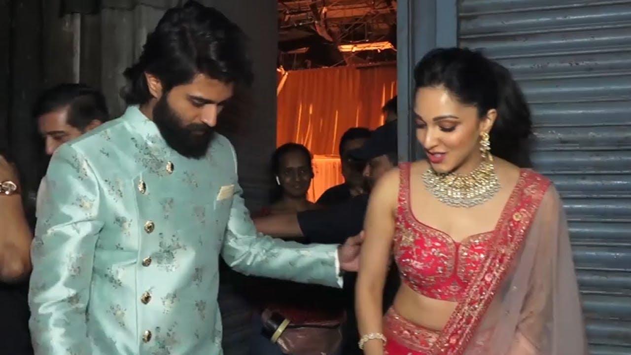 Vijay Devarakonda And Kiara Advani Visuals @ Filmalaya Studio   Manastars -  Youtube