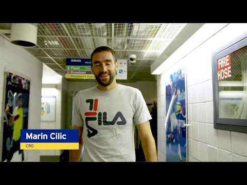 Emirates Winners Walk: R2 Marin Cilic