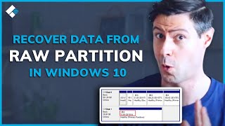 Recover RAW Partition   H๐w to Recover Data from RAW Partition in Windows 10 [2 Solutions]