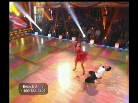 Evan Lysacek & Anna Trebunskaya dance Freestyle - DWTS Season 10 week 10(2)