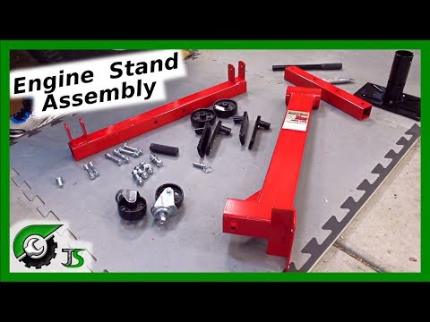 Harbor Freight Engine Stand