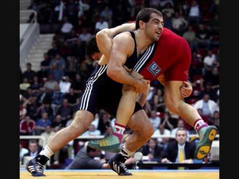 Ossetian wrestlers 2008