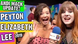 Peyton Elizabeth Lee Andi Mack, Dating & Acting Update + Walt Disney Studios!