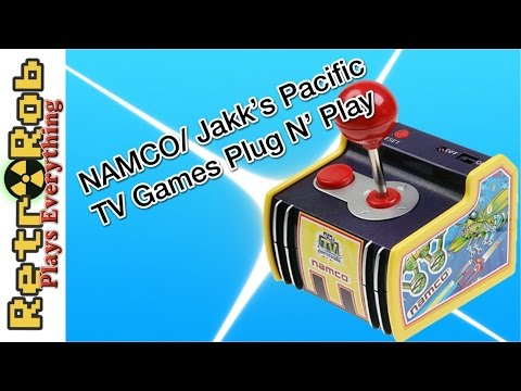 Jakks Pacific Namco Pacman 5 In 1 Plug And Play Review