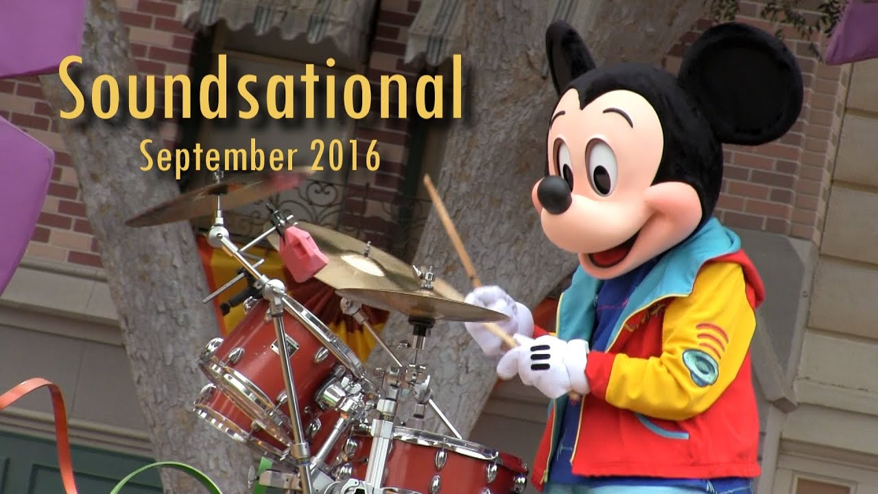 Mickey's Soundsational Parade - Opening Unit (September ...