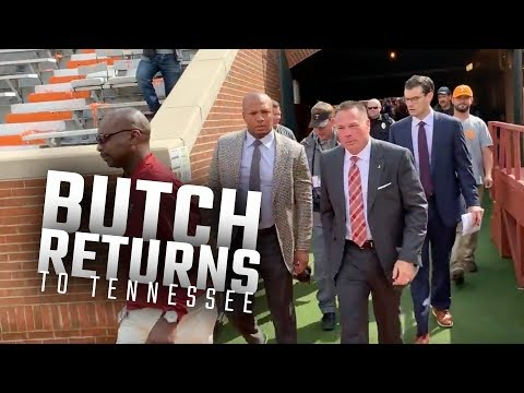 Watch Butch Jones arrive at Tennessee for the first time as an Alabama staffer