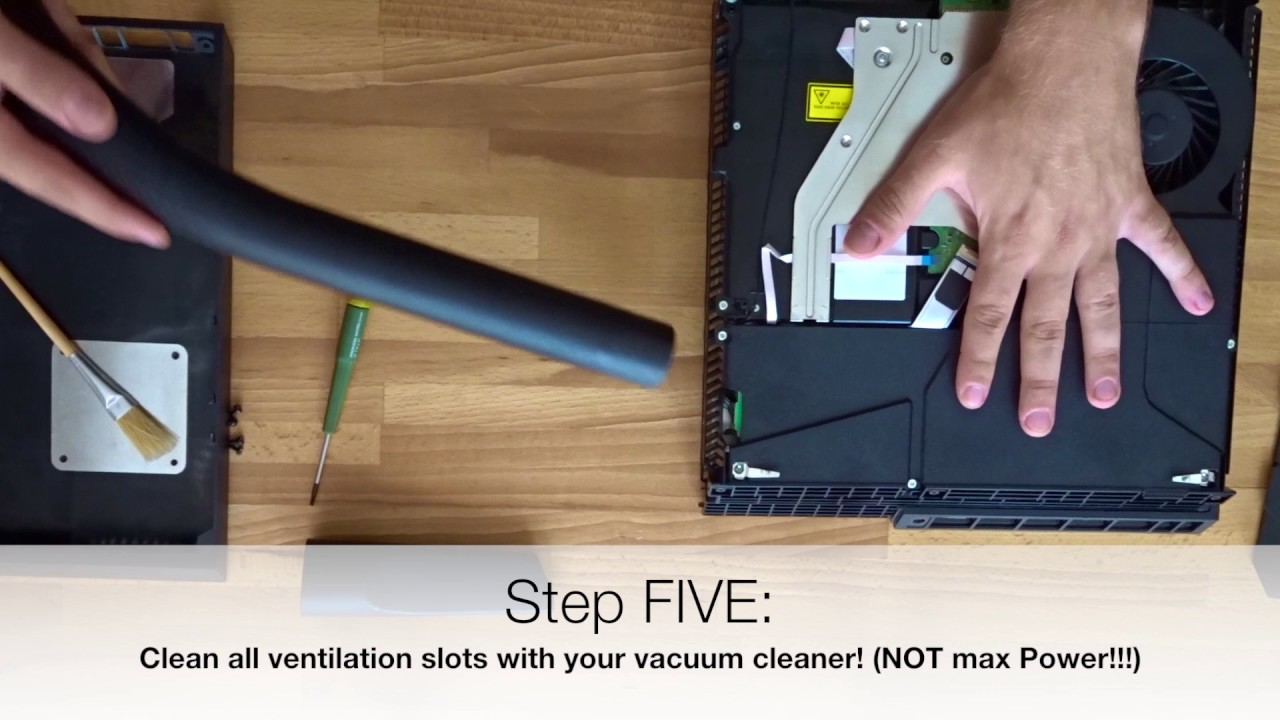 loud ps4 clean ps4 fan tutorial how to clean your ps4 fan