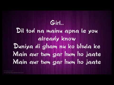 Main Aur Tum Full Song Lyrics Dard Dilo Ke   Zack Knight   YouTube