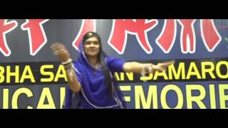 Pihu Kanwar Performing Folk Dance