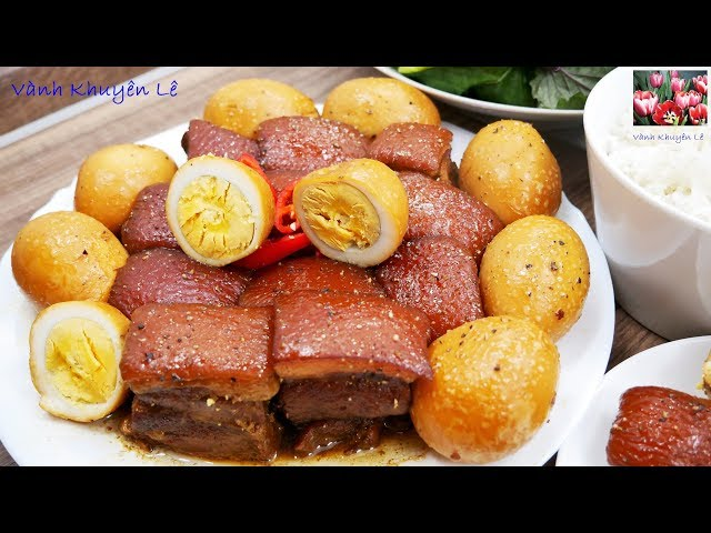 Thịt Kho - Thịt Ba rọi theo kiểu mới của Nhà Hàng - Bạn thử nấu và cho cảm nhận by Vanh Khuyen