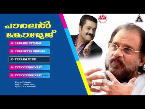 Parallel College (പാരലൽ കോളേജ് ) | Malayalam Movie Songs | Evergreen Hits | Yesudas Hit Songs