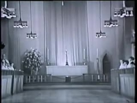 """""""Songs of Praise"""" Easter Day 1967 (BBC TV) - Guildford Cathedral Choir (Barry Rose)"""
