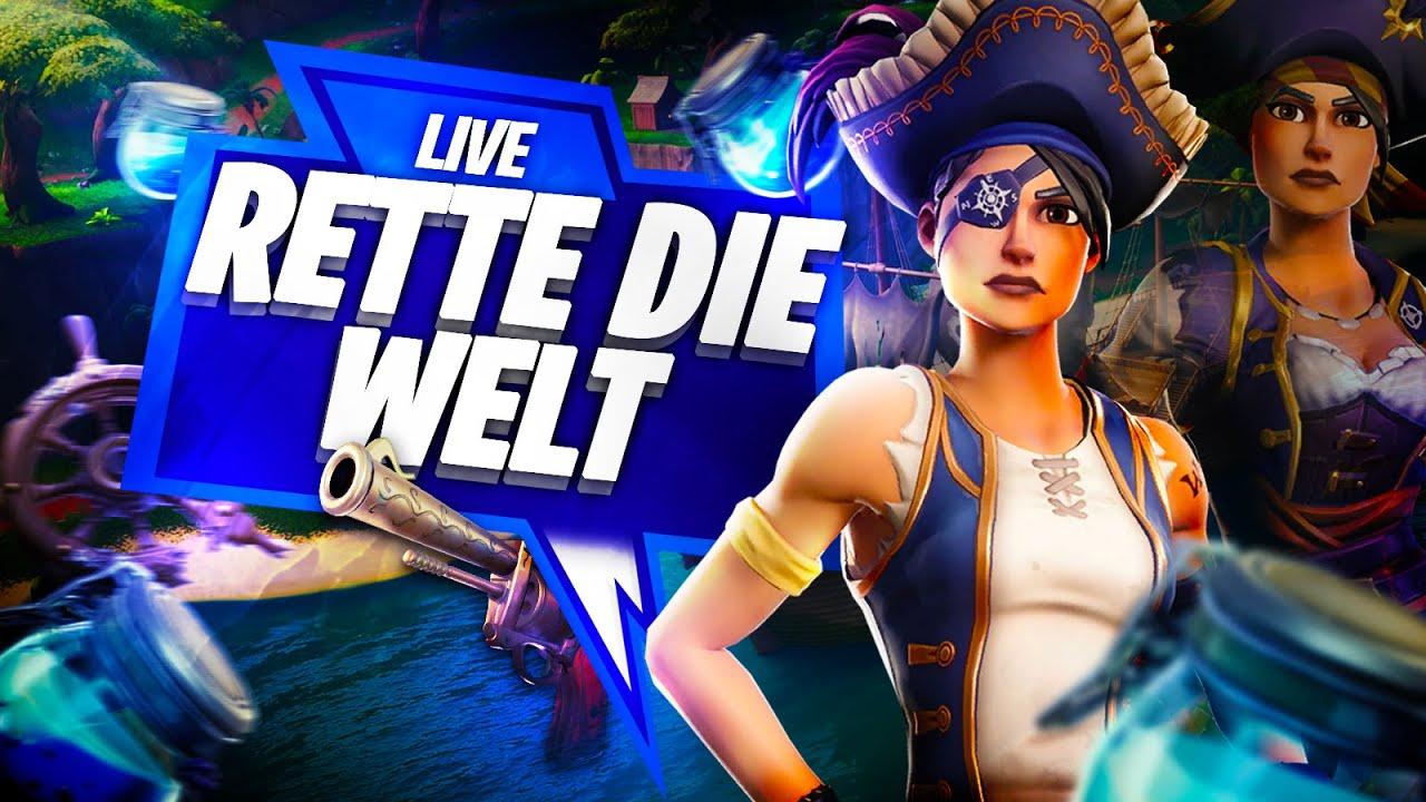 💥Rette Die Welt 💥 | ⚡️Jeder Abo= Waffen ⚡️Fortnite Live Stream |Verlosung ab 1300 Subs ‼️