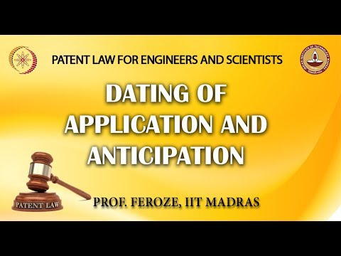 Dating of Application and Anticipation