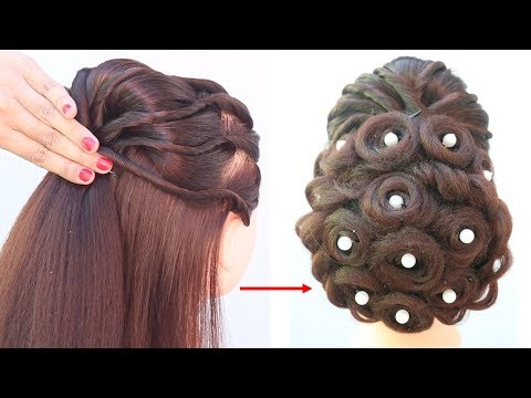 new-hairstyle-||-hair-style-girl-||-simple-hairstyle-||-best-hairstyle-||-bridal-hairstyle