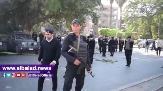 الإسعاف تنقل حالات الوفاة في انفجار الهرم إلى مشرحة مستشفيات الهرم  وأم المصريين والجيزة..فيديو و صور