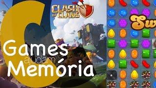 Games Ajudam a Memória