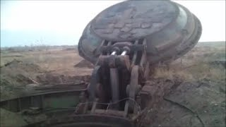 Russian ICBM 150-Ton Ballistic Missile Silo Lid Opens Effortlessly !!!