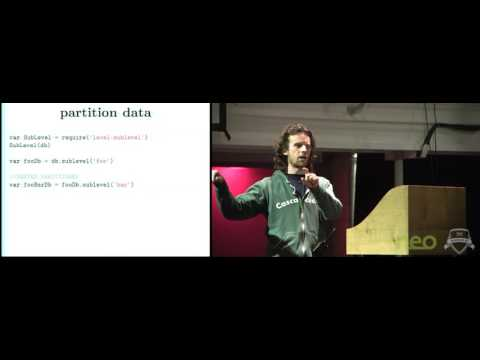 Dominic Tarr  The database of the future  leveldb