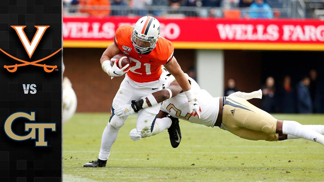 UVa football: Cavaliers top Georgia Tech, inch closer to ACC ...