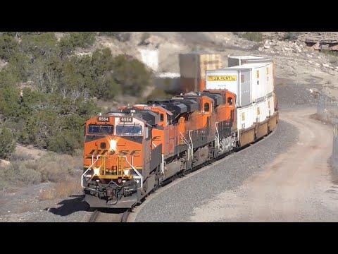 [2T] BNSF Southern Transcon Part 3/4: The Clovis Sub, Belen - Willard NM, 04/16/2016 ©mbmars01