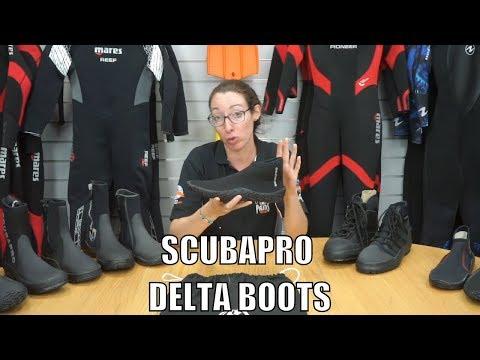 ScubaPro Delta 3mm Short Boots