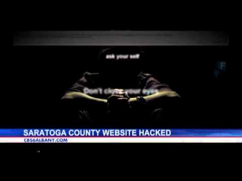 Saratoga County website hacked