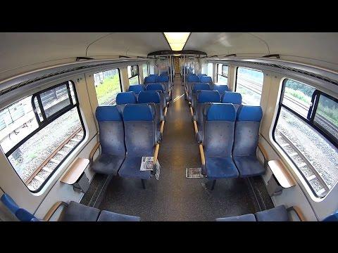 Real Train Driver's View SGM Rotterdam - Harmelen - Amsterdam MET RONDLEIDING door de trein 2016