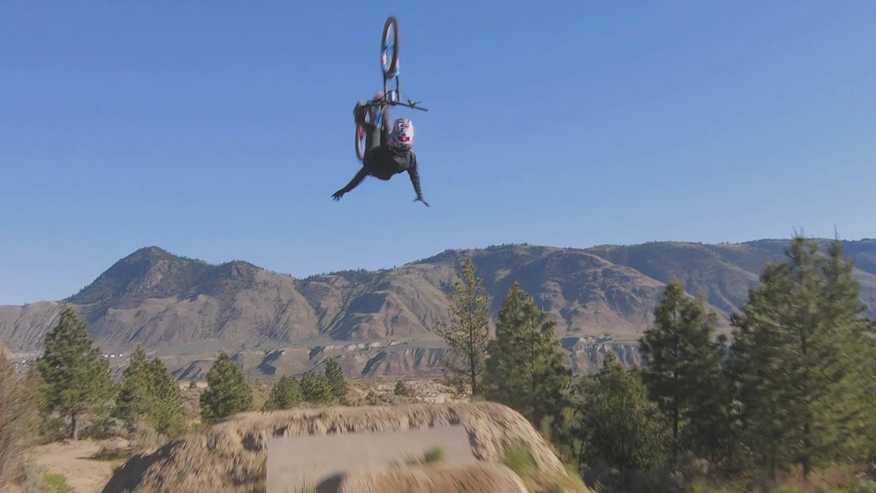 Insane Kamloops One Shot with Reece Wallace   Giant Bicycles