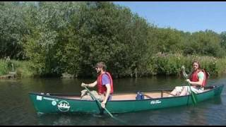 Canoeing on the Dilham Canal