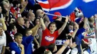 Eisbären Berlin   fans singen