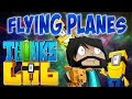 DAVE LEARNS TO FLY!!   Think's Lab Minecraft Mods [Minecraft Roleplay]