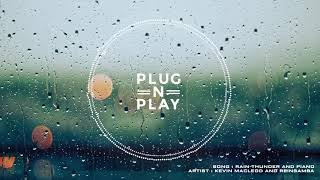 Rain thunder and piano - Nature Sounds - Sleeping - Relaxation - Meditation - No Copyright Music