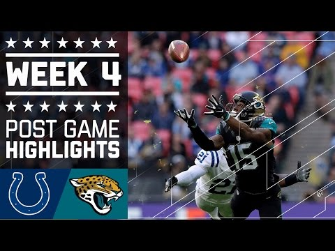 Colts vs. Jaguars | NFL Week 4 Game Highlights