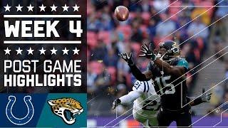 Colts vs. Jaguars   NFL Week 4 Game Highlights