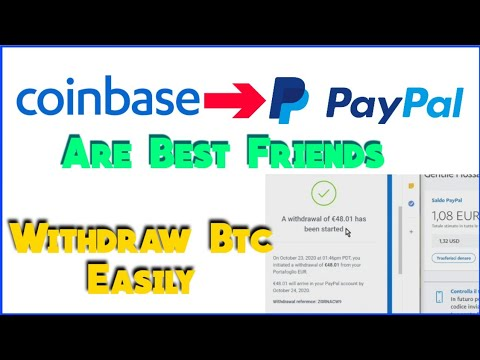 How To Withdraw From Coinbase To Paypal