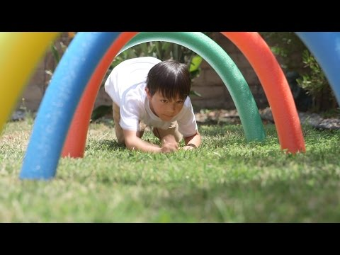 The Ultimate DIY Backyard Obstacle Course For Kids