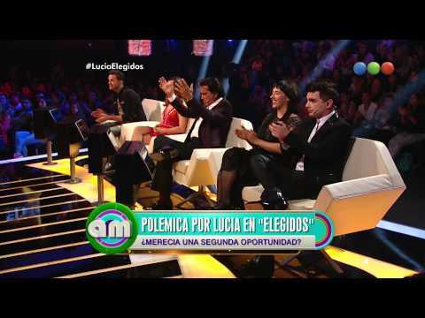 Polémica por Lucía de Elegidos - AM 2015