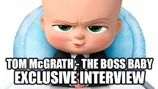 Tom McGrath - The Boss Baby Exclusive Interview