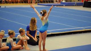 Level 3 gymnastics meet  2017