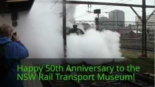 NSW Rail Transport Museum - 50 Years