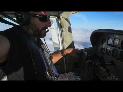 Pilot's life around Caribbean sea